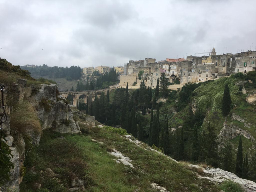 il canyon di Puglia
