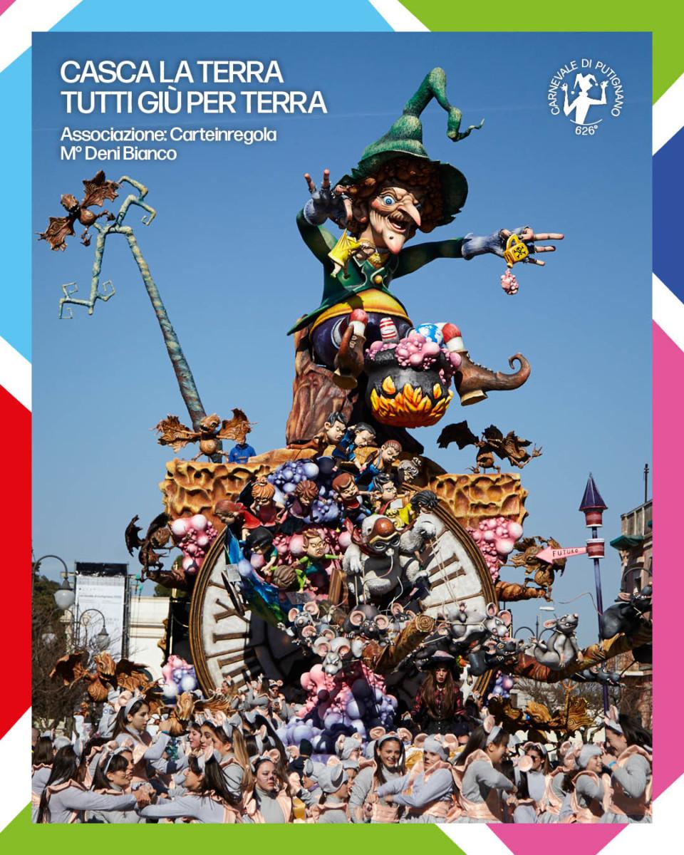 Carnevale di Putignano 2020, 20mila presenze e non sentirle