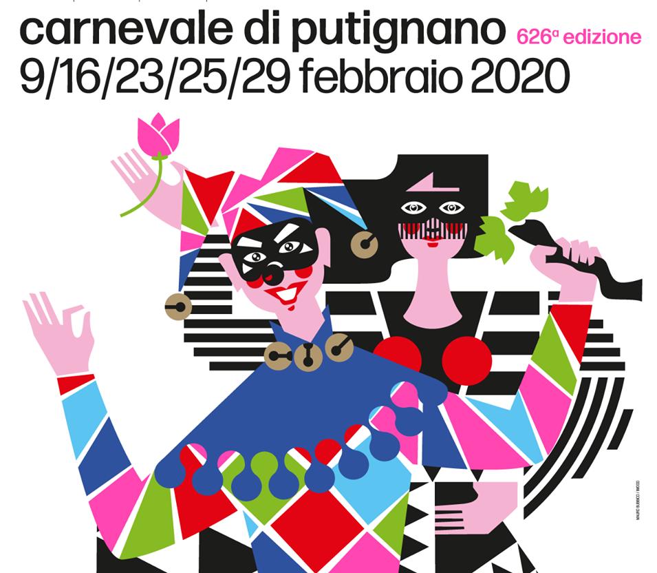 Oggi San Valentino anche per Farinella del carnevale di Putignano? Può darsi, dipende dalla tua libera interpretazione dell'arte