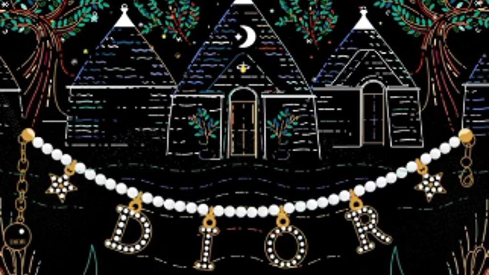 Dior sceglie Alberobello per Natale 2020